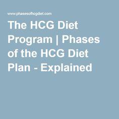 The HCG Diet Program | Phases of the HCG Diet Plan - Explained