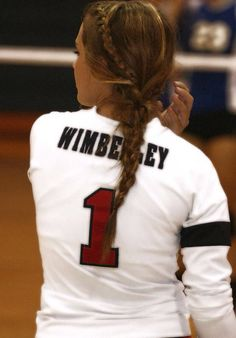 Braids For Sports Volleyball Games Trendy Ideas Volleyball Braids, Softball Hair Braids, Softball Hairstyles, Athletic Hairstyles, Sporty Hairstyles, Workout Hairstyles, Volleyball Games, Volleyball Outfits, Coaching Volleyball