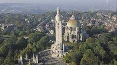 Cointe, le Mémorial Interallié (1914-1918) et le Sacré Coeur - vue sur Liège