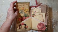"Vintage Junk Journal: ""Tessa's Tea with Roses"""