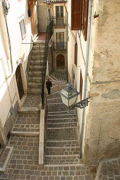 Steps, Anversa degli Abruzzi, Abruzzo, Italy