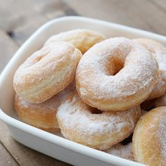 Donut Recipes, Sweets Recipes, Cake Recipes, Cooking Recipes, Cafe Food, Food Menu, Yummy Waffles, Homemade Sweets, Japanese Sweets