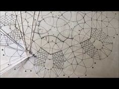 How to make doily Bobbin Russian Lace part 1 - YouTube