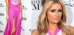 VOLANTAMUSIC: Paris Hilton lució vestido que dejaba mucho a la i...