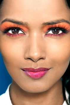 The color-blocked beauty look, would you try it?