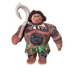 BNWT 39 cm Disneystore Authentic-Moana-Maui Medium Soft Plush Toy-