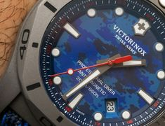 Victorinox Swiss Army INOX Professional Diver Titanium Watches Hands-On Titanium Watches, Victorinox Swiss Army, Diving, Watches For Men, Hands, Tag Heuer, Men's Fashion, Collection, Sport Watches