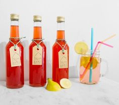 Homemade elderflower raspberry lemonade from the Thuyskamer kitchen | Thuyskamer