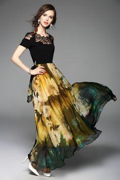 AMBER FOREST DRESS