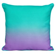 Safdie Co - 16 Ombre Decorative Pillow in Blue