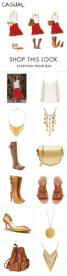 """RL"" by josefina-echeverria on Polyvore featuring moda, NOVICA, Raey, BERRICLE, John Hardy, Sophie Hulme, Gestuz, H&M, Shoes of Prey y Gurhan"