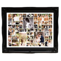 Photo Albums and Guest Books Picture Gifts, Picture Cards, Picture Wall, Wedding Collage, Wedding Frames, Wedding Photo Albums, Wedding Photos, Wedding Ideas, Picture Montage