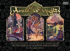 Prezzi e Sconti: games tales of the arabian nights ad Euro in man games giocattoli Man Games, Games To Play, Dice Tower, Arabian Nights, Tabletop Games, Great Stories, Game Night, Best Games, Aladdin