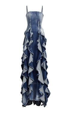Denim Eve Evening Dress by RALPH LAUREN