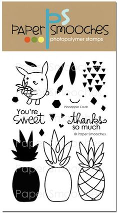 Pineapple Crush stamp set from Paper Smooches