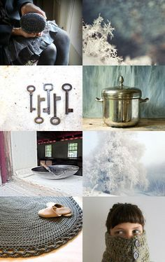 Cool As Ice by Kris and Margaret on Etsy--Pinned with TreasuryPin.com