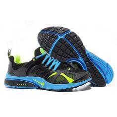 Nike Air Presto Schwarz Leder