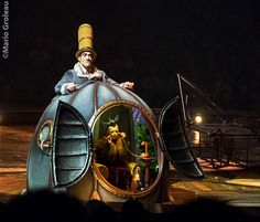 Cirque du Soleil Kurios Mario Groleau photographie Plus Day Of Dead, Steampunk Circus, Steampunk Costume, Set Design Theatre, Stage Design, Dark Fantasy Art, Puppetry Theatre, Art Du Cirque, Le Clown