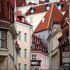 Tallinn, Estonia - I'd love to check out some more unique countries in Europe besides just the central countries.