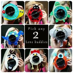 Check out this item in my Etsy shop https://www.etsy.com/ca/listing/200622560/deal-on-2-camera-lens-buddy-crochet-lens