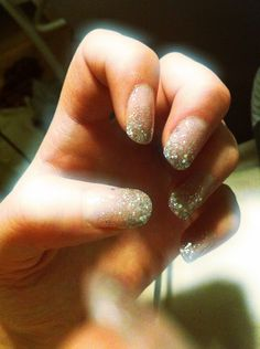 gel nails art glitter creative diy nice cool