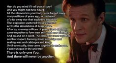 Feeling bad about yourself?. Love me some Doctor Who feels.. Hey, do you mind if I tell you a story? One you might not have heard? All the e...