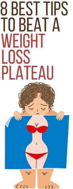 8 best tips to overcome weight loss plateau.