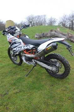KTM 690 Rally Raid Conversion