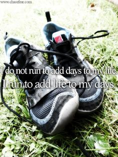 The world is trying to guilt me about running...