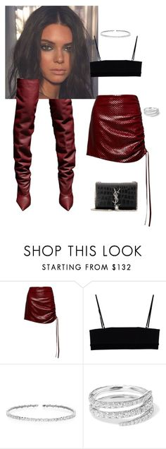 """""""Untitled #92"""" by zivapersonalshopping on Polyvore featuring Magda Butrym, Alexander Wang, Suzanne Kalan, Anita Ko and Yves Saint Laurent"""