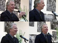 The BIID (British Institute of Interior Design) award to Mary Fox Linton presented by Alan Rickman June 18, 2010
