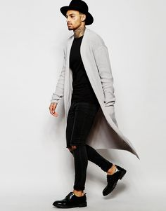 Image 4 of ASOS Super Longline Cardigan