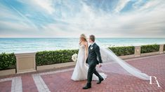 Extravagant Wedding at The Breakers Palm Beach by Domino Arts Photography Breakers Palm Beach, The Breakers, Bride And Groom Pictures, Wedding Pictures, Domino Art, South Florida, Flower Wall, Backdrops, Art Photography