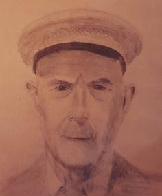 Mein Großvater. Zeichnung von mir. (hier: Homebase)