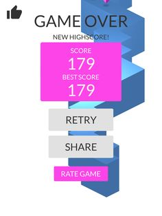 OMG!Imade 179 zigzags playing #ZigZag https://itunes.apple.com/app/id951364656