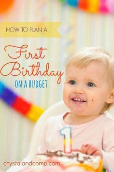 I admit it- I spent a FORTUNE on my kids' 1st birthdays. The experience was worth it, but I probably could have saved some money. Did you do the same thing?