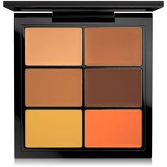 Mac Studio Conceal and Correct Palette ($35) ❤ liked on Polyvore featuring beauty products, makeup, face makeup, concealer, dark, mac cosmetics, dark circle concealer, mac cosmetics concealer and palette concealer