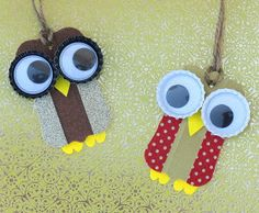 What better way to combine both trends, than with this Whimsical Washi Tape Owl Ornament?