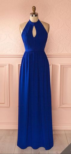 Prom Gown,Royal blue Prom Dresses,Evening Gowns,Formal Dresses,Royal blue