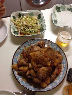 Jjimdak (Korean steamed chicken)