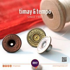Whatever we do we do it for the fashion. #timaytempo #metal #accessories #button #denim #fastener #jeans #fashion #collection #prongsnapfastener #klikıt #snap #aksesuar #düğme #leather #sewing #sewonbutton #denimbutton #denimaccessories #metalbutton #metalaccessories #rawdenim #different #widerangeofproduct #seasoncollection #ss17