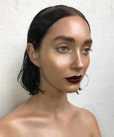 """5,170 Me gusta, 57 comentarios - Nikki_Makeup (@nikki_makeup) en Instagram: """"Mannequin skin & some lip and brow power dressing on @chaanel_ Using @maccosmeticsuk Retro Matte…"""""""