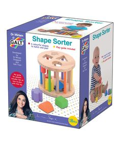 Take a look at this Shape Sorter Set by Galt Toys on #zulily today!