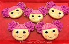 #Lalaloopsy Cookies by OneSweetTreat.