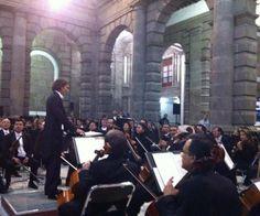 Concierto Orquesta Sinfónica de Minería. Director Huésped Carlo Ponti.