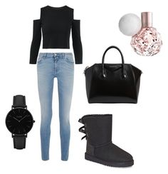 """Untitled #17"" by kernacskinga on Polyvore featuring Givenchy, UGG and CLUSE"