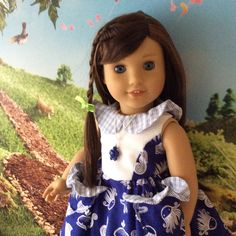 A personal favorite from my Etsy shop https://www.etsy.com/listing/274499722/american-girl-doll-clothes-spring-break
