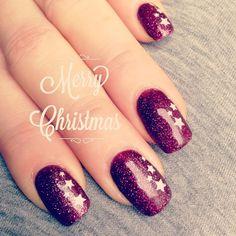 Beitrag über Christmasnails im Stampin' Up! Blog von Steffi Helmschrott – Stempelwiese.
