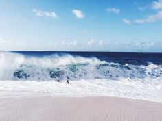 bikinis that stay on in this....#ELLEMERswimwear :: Sport. Swimwear. Hawaii.