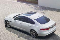 Dit is de gloednieuwe Jaguar XF
